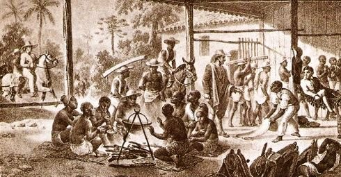 Esclavos Negros, Antillas
