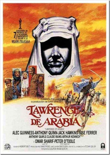 Lawrence de Arabia, David Lean (1962)