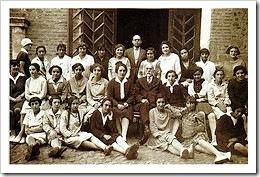 Miembros de las Misiones Pedagógicas