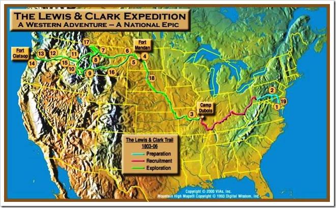 Ruta de la expedicion