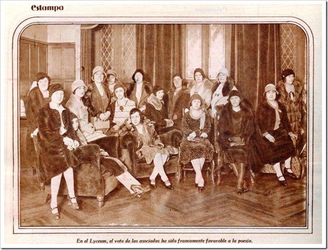 Lyceum de Madrid, 1930