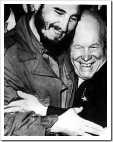 Fidel Castro y Kruschev