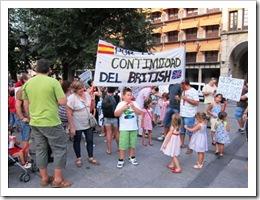 Protestas en Castilla-La Mancha