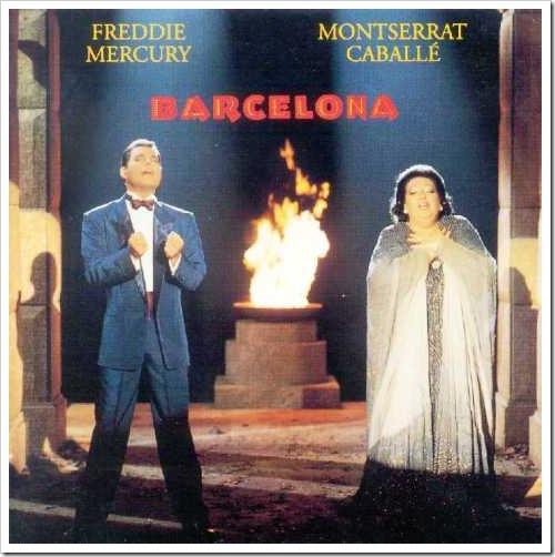 Freddie Mercury y Montserrat Caballé: Barcelona (1988)