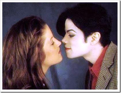 Michale Jackson y Lisa Marie Presley