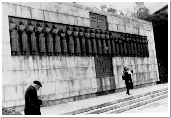 Nagasaki, monumento a los 26 mártires de Japón