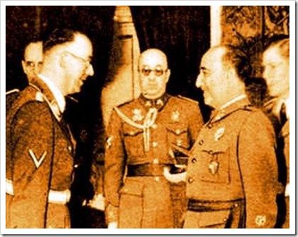 Himmler con Franco