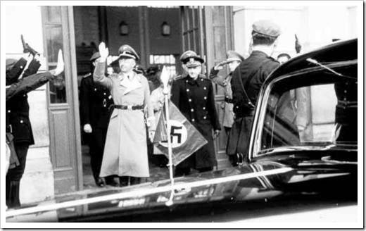 Himmler en España, 1940
