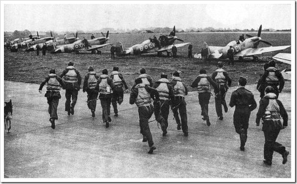 Pilotos de la RAF