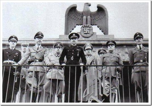 Serrano Suñer con Himmler