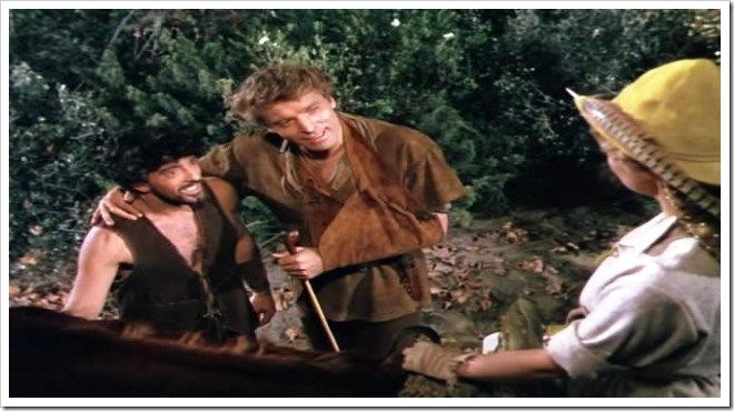 Nick Cravat y Burt Lancaster