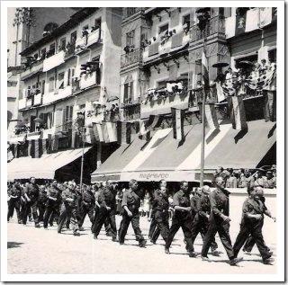 Falangistas en Segovia
