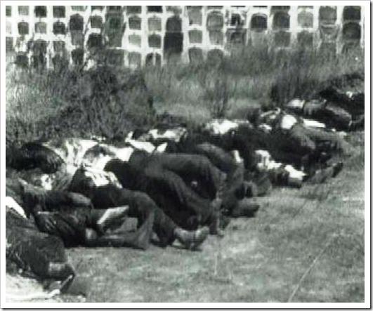 Represión en Badajoz