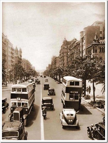 Barcelona, años 40