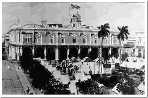 Campamento norteamericano en La Habana