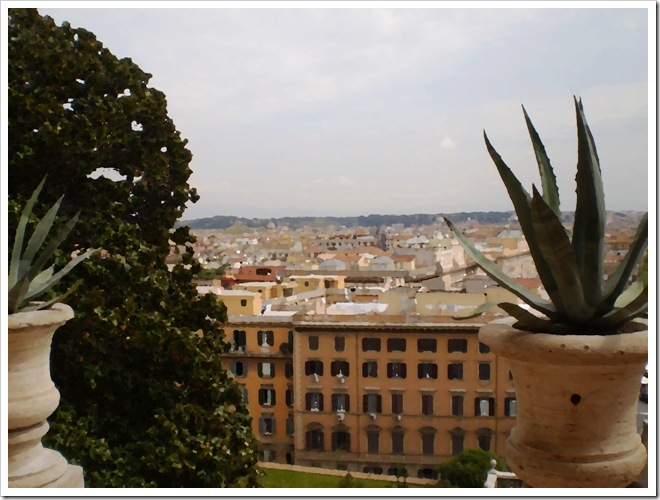 Roma desde el Vaticano I