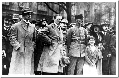 Hitler en el putsch Munich