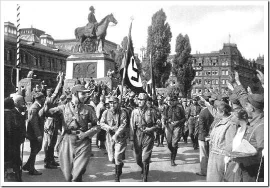 SA en Nuremberg