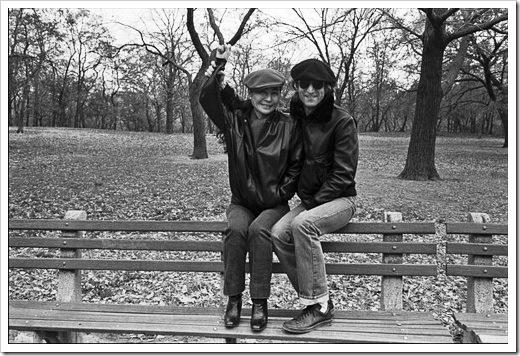 Lennon y Yoko, noviembre de 1980