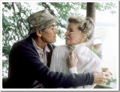 Henry Fonda y Katharine Hepburn