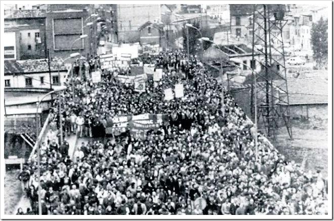Resultado de imagen de Huelga minera asturiana 1962 imagenes