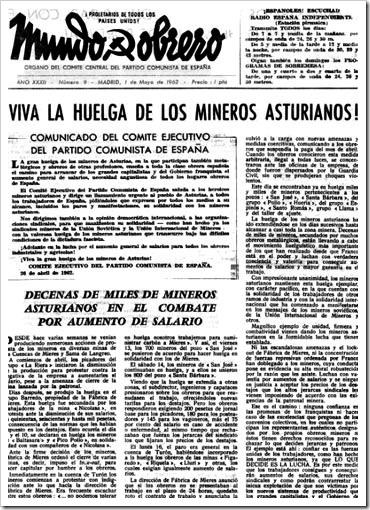 Mundo Obrero, 1962