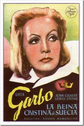 La reina Cristina de Suecia, 1933