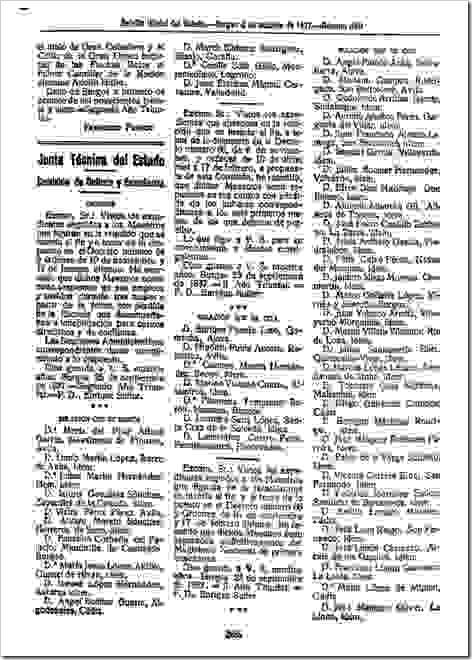 Extracto BOE 349, 04-10-1937