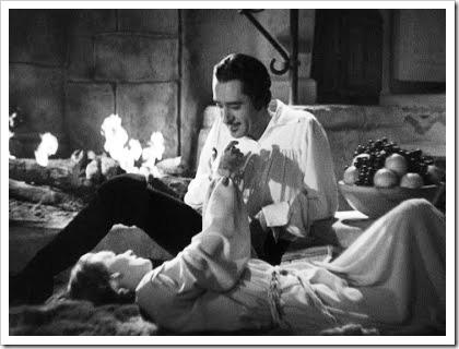 John Gilbert y Greta Garbo
