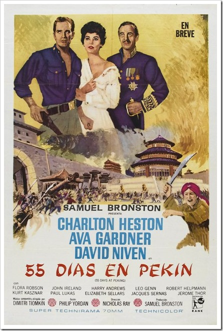 55 días en Pekín, 1963