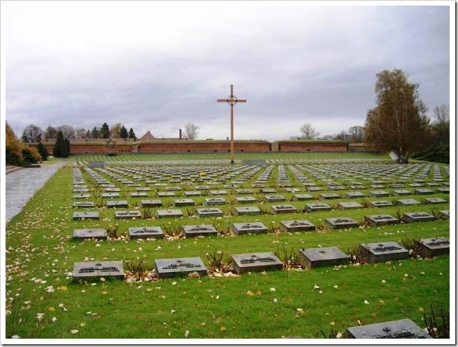 Cementerio cristiano en Terezín