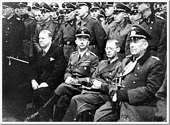 Besuch, Himmler, Terboven y Quisling