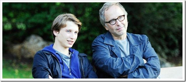 Ernst Umhauer y Fabrice Luchini