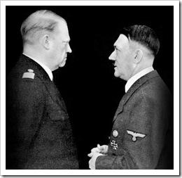 Quisling y Hitler