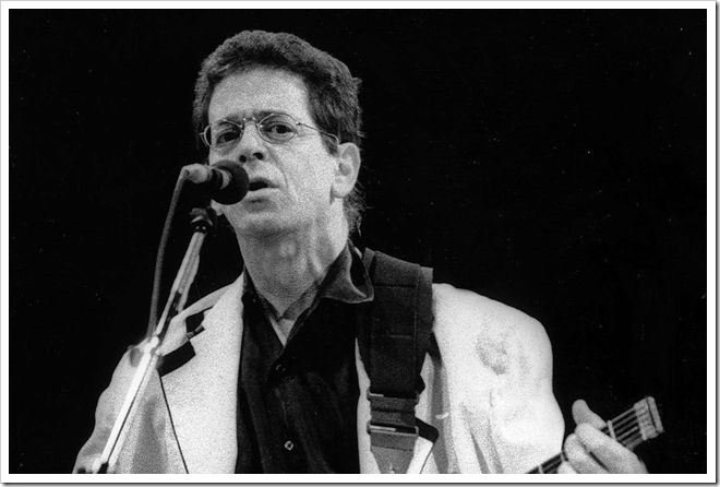Lou Reed, Londres, 1992