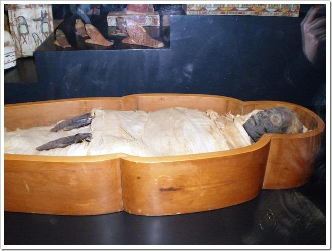 Momia en el Vaticano