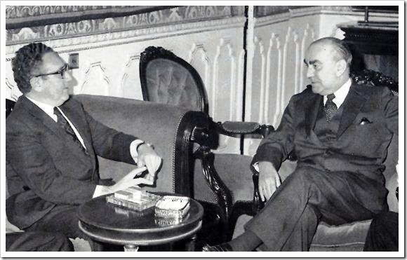 Henry Kissinger y Carrero Blanco