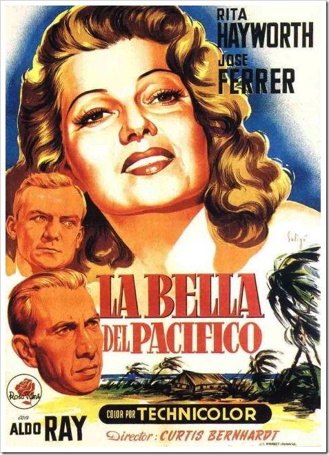 La bella del Pacífico, 1953