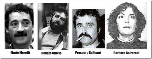 Brigadas Rojas, terroristas