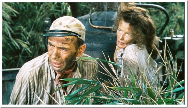 Bogart y Hepburn