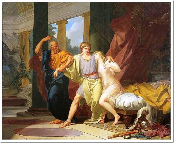 Socrates y Alcibíades