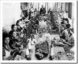 Trabajadoras de textil