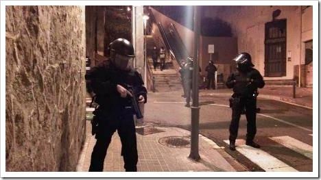 Redada, Barcelona